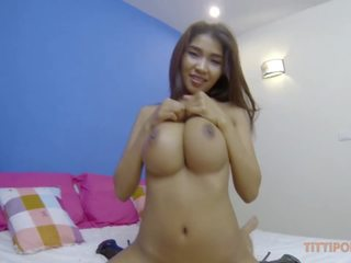Huge Natural Thai Boobs Bouncing While Fucking Raw: Porn 2f