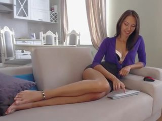 Lapearl Feet & Anal: Free European Porn Video c7