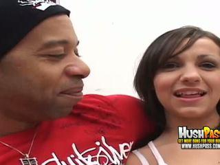 hq big cock porn, black cock, fresh interracial clip