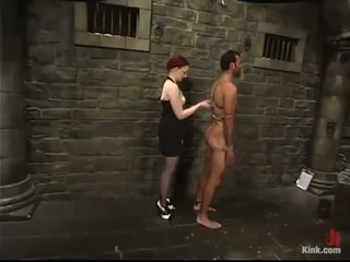 Rope Roped And Rod Torture In Lady Domination Vid Surrounding Claire Adams