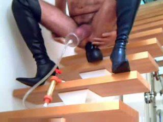 laarzen, crossdressing actie