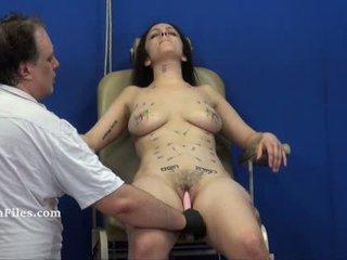 Extreme needle torture and merciless punishment