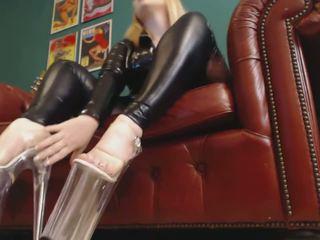 online british best, real high heels fresh, see foot fetish