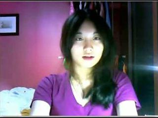 Asian Teen Teasing On Cam