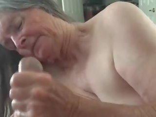 fun, cum in mouth, grandma tube