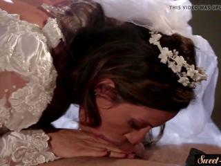 Busty MILF Screwed in Her Wedding Dress, Porn 2f