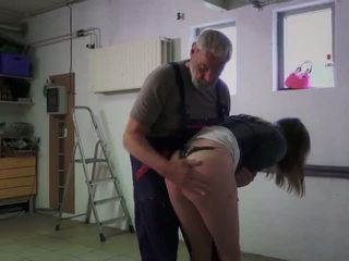 Teen step sister masturbating outdoor doggy style fucked old man cum eating - Porn Video 421