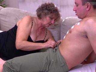 mooi jong, oud, ideaal grootmoeder porno