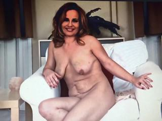 Amateur Housewife Steffi at Naked Casting Interview...