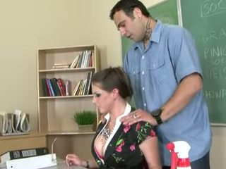 Rachel roxxx 이다 a 뿔의 선생
