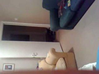 een voyeur, webcams kanaal, echt amateur neuken