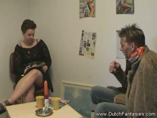 Κατασκευή ο ολλανδικό κυρία ευτυχισμένος