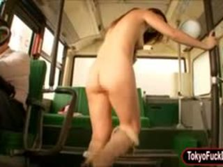Sexy Horny Schoolgirl Sucks Off And Pussy Fucked On The Bus