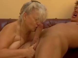 een cumshots kanaal, oma, vers grannies film
