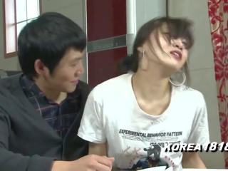 Korean Girl Can't Hold out Any Longer, HD Porn 54