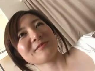 Vackra japanska hustru