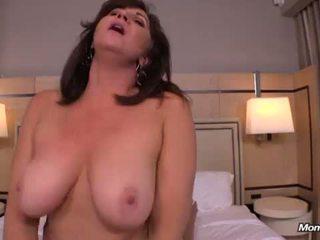 cougar, store pupper, busty milf, hot mamma