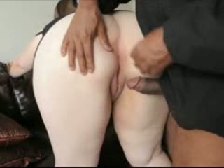 Beautiful Chunky Lass Interracial Buttsex