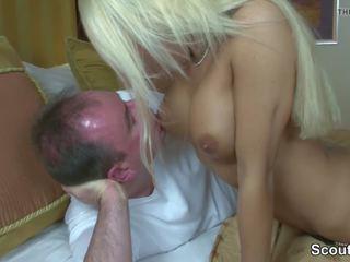 Hot German Escort Fuck Old Man in Hotel for Money: Porn d0
