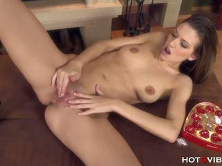 ideaal seksspeeltjes klem, brunettes, mooi masturbatie thumbnail