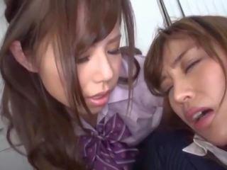 kuumin japanilainen hauska, lesbot, hauska vanha + young tuore