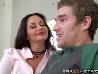 Ava Addams Shows the True Meaning of Being a Cougar...