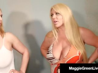 Maggie Green & Step Mom Karen Fisher, Fuck Step Daughter!