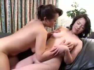 lesbian, mature, asian