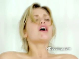 Blonde porn babe rides artistic cock while filmed on a top quality camera