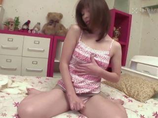 brunette, japanese, toys