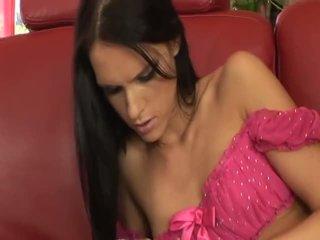 brunette, booty, big dick