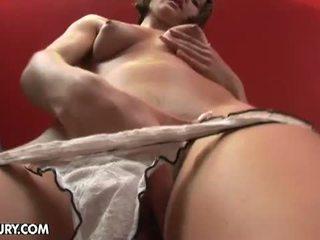 babaca, sacudindo, anal