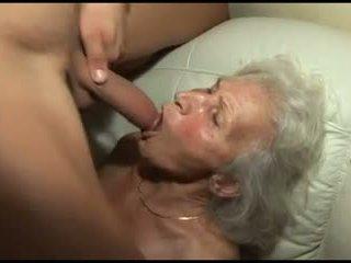 zien grannies, zien behaard