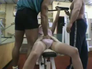Nadine a La Salle De Gym, Free Mature Porn b0
