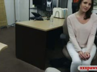 vol brunette, ideaal realiteit video-, doggystyle seks