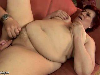 kwaliteit oud video-, beste grootmoeder tube, een oma porno