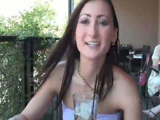 ideal brunette, you naked sex, fresh flashing clip