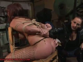 bdsm seks, vol overheersing neuken, vol hogtied scène