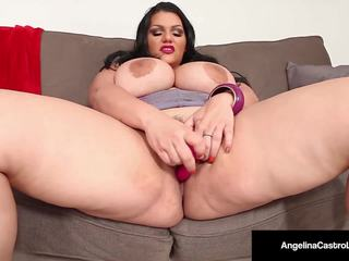 Cuban Angelina Castro's Plays with Pussy in Tight...