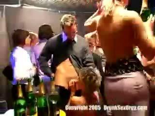 dronken klem, u partij seks, u club film