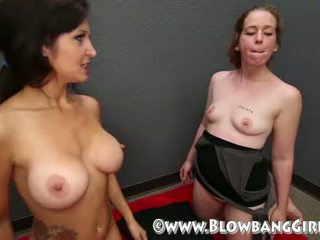 Cum Compilation from BlowBang Girls