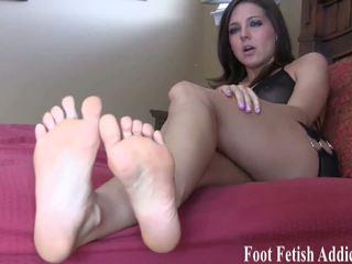 崇拜 我的 脚 和 我 将 reward 您, 高清晰度 色情 7f