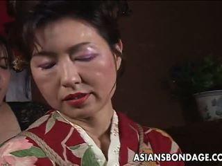 日本, 辣妹, 高清色情, 束縛