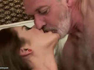 Cathy Heaven enjoys sex with older guy