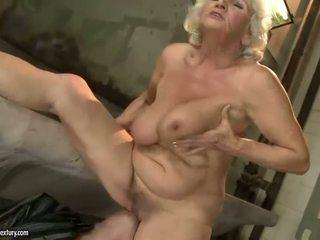 grandma, granny, hairy, granny fucking