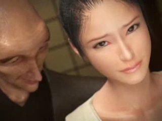 distracție sex oral proaspăt, deepthroat fierbinte, japonez cele mai multe
