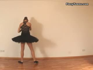 flexible action, stretching mov, real ballerina sex