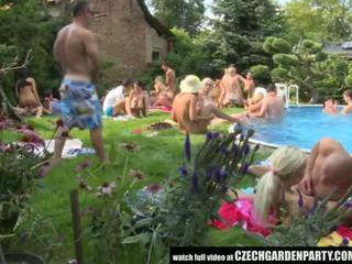 Τσέχικο ανοιχτό αέρας σεξ πάρτι - πορνό βίντεο 931