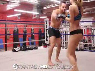 Hd fantasyhd - natalia starr wrestles hänen tapa osaksi naida session
