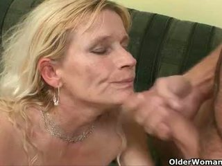 Shoot your cum on a mom